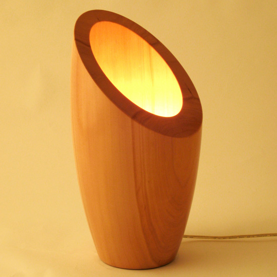 Bucket lamp + other woodturning projects