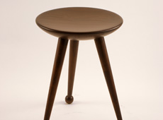 Sate-light stool and tables