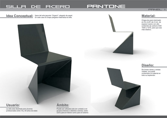Pantone Chair + Tria