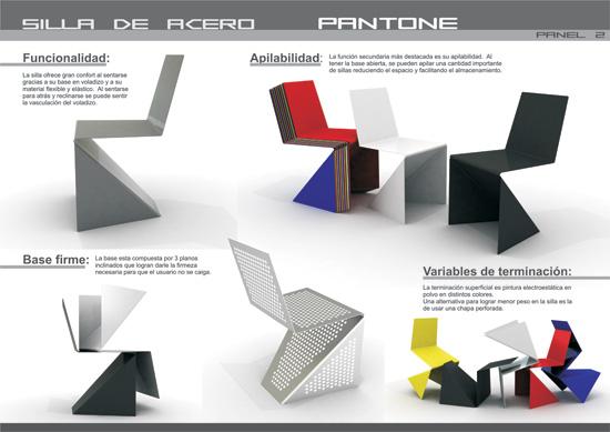 Pantone Chair + Tria